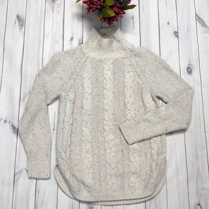 Loft Outlet small cable knit sweater